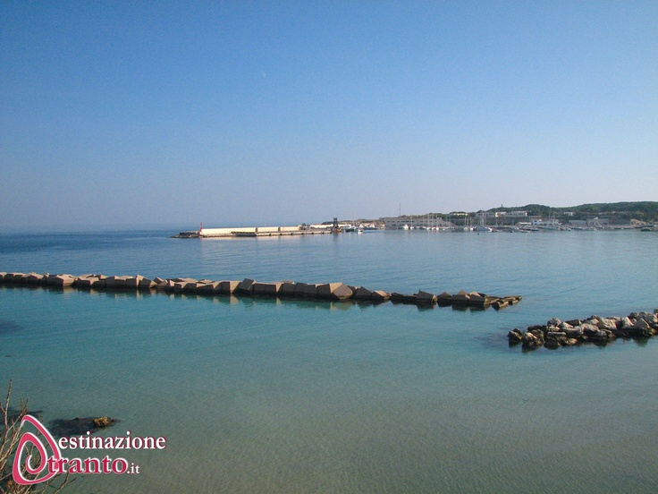 Otranto, la baia del porto