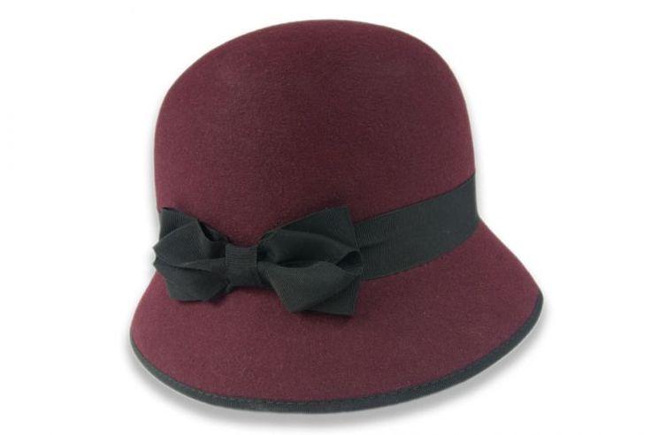 Dámský plstěný klobouk (52806/15-52324/12)
