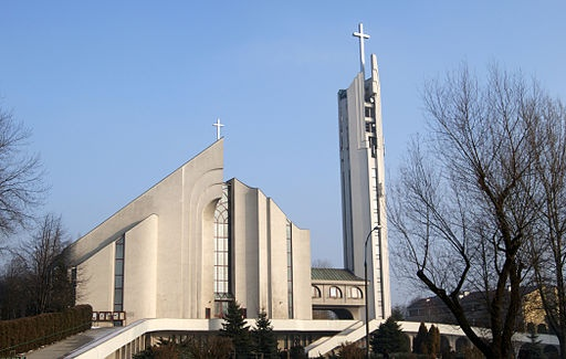 Divine Mercy Church,1a osiedle Na Wzgorzach,Nowa Huta,Krakow,Poland