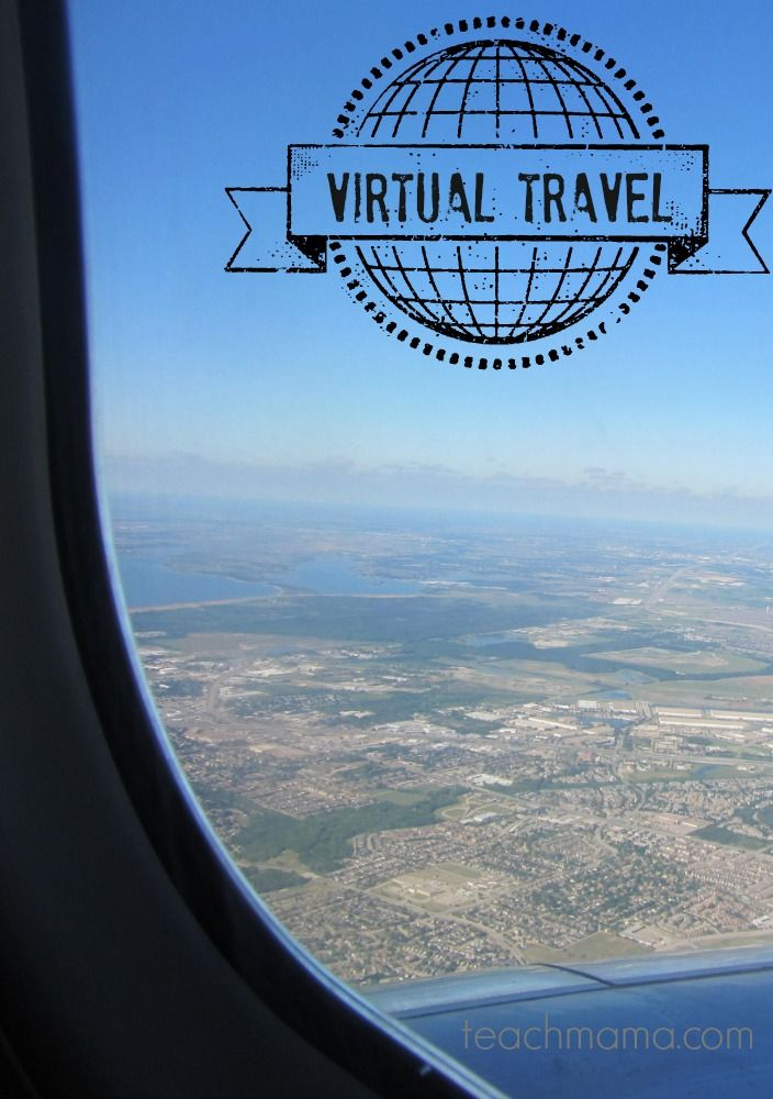 virtual travel: explore without leaving home | teachmama.com for @Melissa Squires & Doug Toys