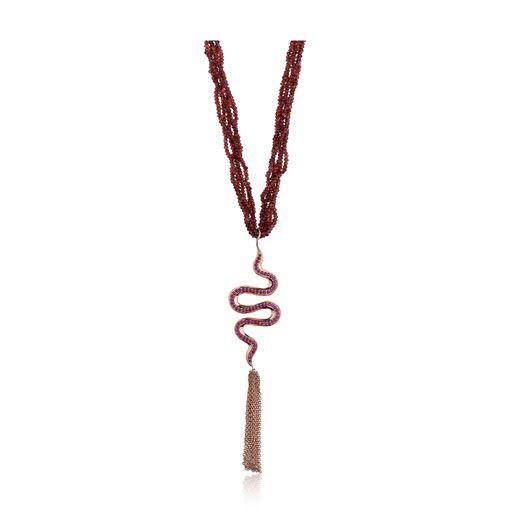 valentine day necklace craft
