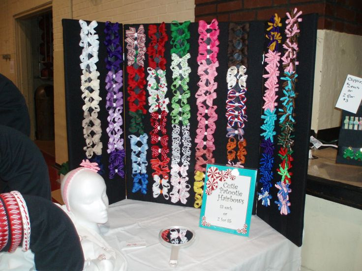 How To Make A Clothesline For A Craft Fair Table