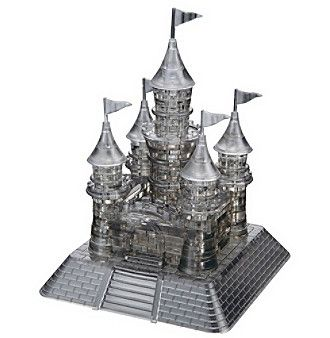 BePuzzled® 3D Crystal Puzzle - Castle