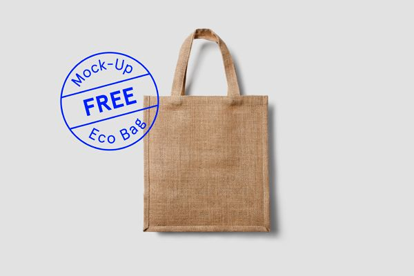 Free Eco Bag Mock-Up on Behance