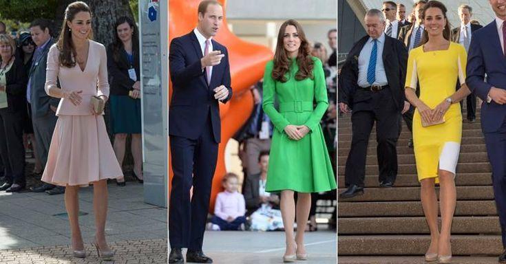 Venda de sapato que Kate Middleton usou cinco vezes em tour real cresce 126%