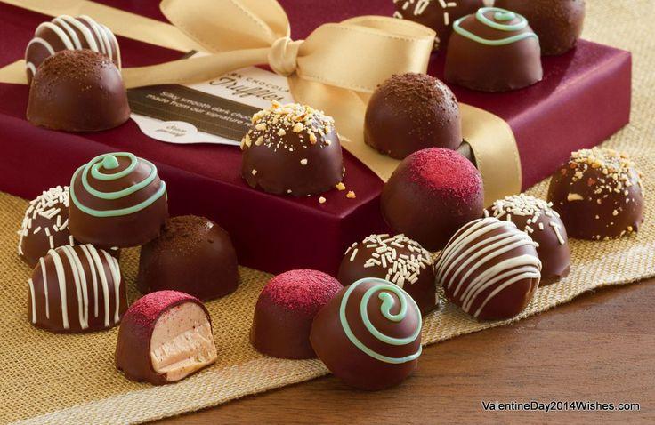 Chocolate Day Wallpaper HD - Sweet Caramel Chocolates [ValentineDay2014Wishes.com]