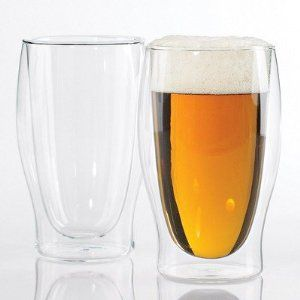 Steady Temp Double Wall Beer Glasses