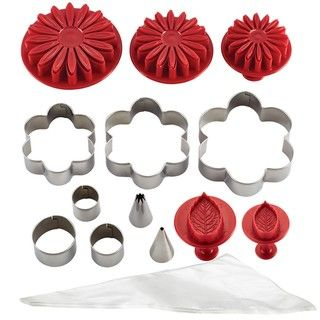 Cake Boss Decorating Tools Flower Cake Kit - Overstock™ Shopping - The Best Prices on Cake Boss Cake Decorating