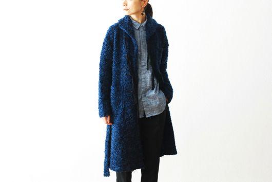 "[ladie's]FWK by Engineered Garments(エフダブリューケイ バイ エンジニアードガーメンツ)  ""Shawl Collar Knit Jacket - Boucle"""