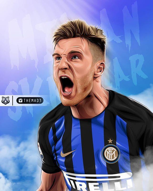 Футбольный плакат интер
