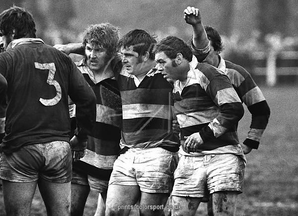 """The Pontypool front row (Graham Price, Bobby Windsor & Charlie Faulkner) who earned the nickname the Viet Gwent """"...for fighting the guerilla war in the dark, dirty underworld of the front row...."""" - Bernard Gallagher (The Telegraph)"""