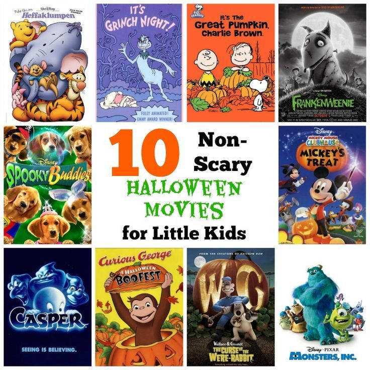 It's hard to find a kid-friendly Halloween movie! This roundup includes 10 top picks for Halloween movies that are not scary and perfect for toddlers!