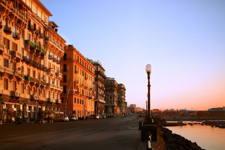 Naples at sunrise - Taken during sunrise in Naples. It was a warm beautiful morning.