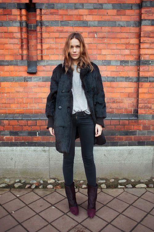 Fur Coat + Isabel Marant                                                       …