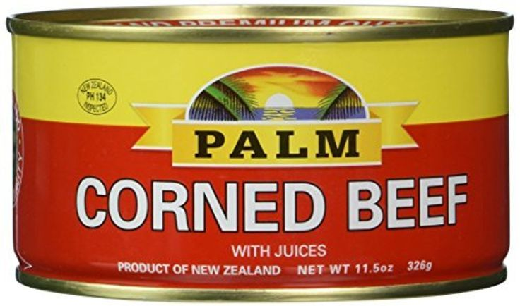 Palm Corned Beef - Premium Quality From New Zealand - 12 x 11.5 Oz (326 grams) by Palm -- Awesome products selected by Anna Churchill