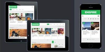 Enspire Free Magazine Wordpress Theme