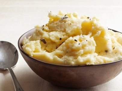 Truffled MashFood Network, Side Dishes, Truffles Mashed Potatoes, Potatoes Recipe, Mashed Recipe, Network Kitchens, Food Yum, Cooking Eating Drinks, Food Recipe