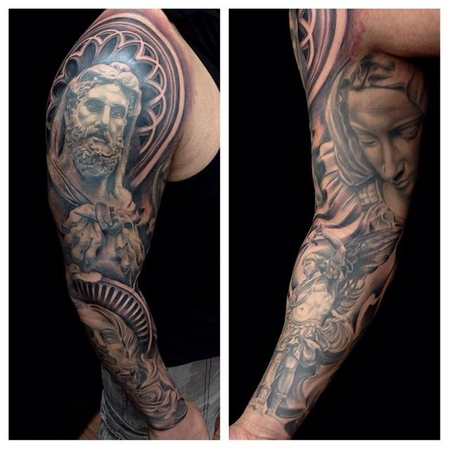 297 best sleeve tattoo images on pinterest arm tattoos for Fred flores tattoo