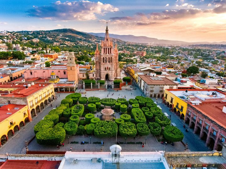 San Miguel De Allende Is 'Travel + Leisure' Magazine's Top City Of 2017  This stunner is closer than you think.