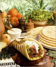 FREE DRINK With Purchase of Lunch/Dinner item!! Gyros & lots more - Jaffa Cafe (SLO only) exp. 7/31/13, 1 per person