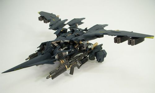 Now THAT's an Armored Core: Aaliyah Custom | Raven Republic #magnificent Hashtags: #Majestic #Android