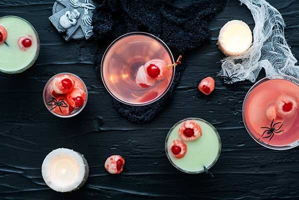 Lychee Eyeballs and Halloween Cocktails | Recipes | Simply Gluten Free