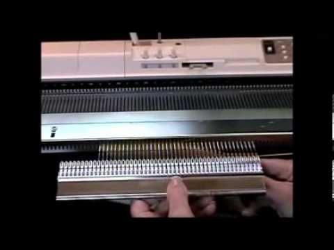Garter Bar Video by Sandee - Learn how to use it!. - Knitting Machine -