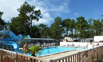 Vendée : 1 semaine en mobil-home au camping les Samaras 4* avec espace aquatique pour 4/6 personnes: #SAINT-JEAN-DE-MONTS/OROUËT En…