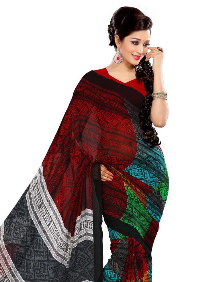 EthnicQueen offers the latest Designer Art Silk Sarees.. Details: http://www.ethnicqueen.com/