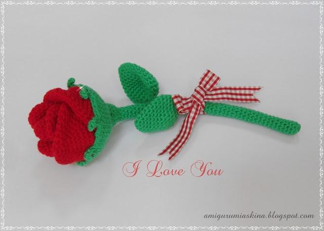 Amigurumi  Gül- Rose