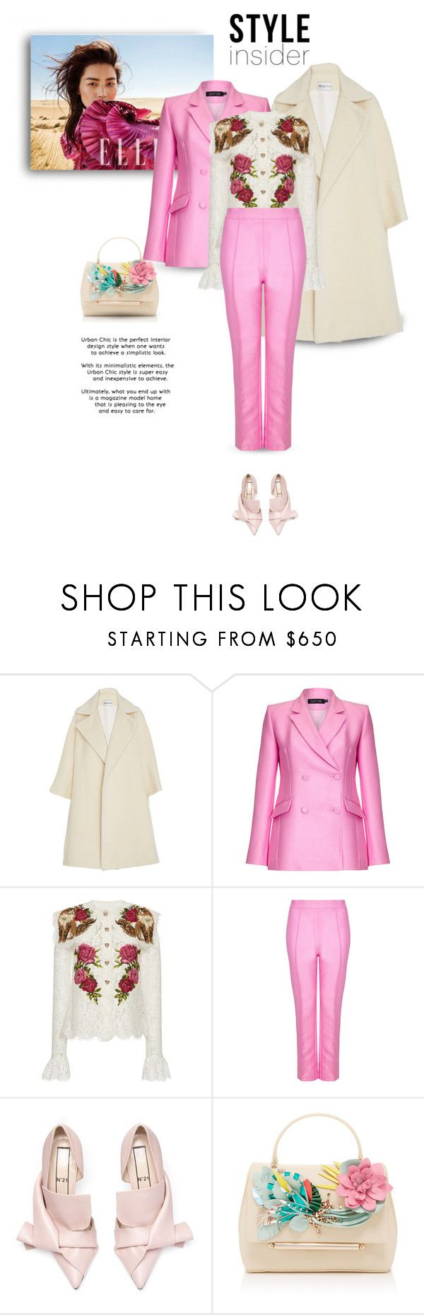 """01.02.2018"" by bliznec-anna ❤ liked on Polyvore featuring Safiyaa, Dolce&Gabbana and Delpozo"