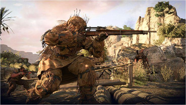 監視、計画、遂行。次世代機向けに開発された唯一無二の戦略的狙撃ゲームに適応せよ。 PS4/PS3専用ソフト『スナイパーエリート3』公式サイトです。