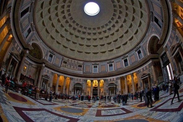 El Panteón de Agripa Rotonda/Cúpula- Buscar con Google