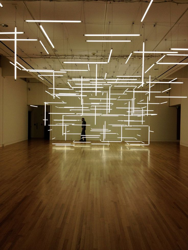 ...This is! Its a light sculpture by Lilienthal Zamora, installed at the Frye in December, halfway through the run of Mw. Is it a stage set? An installation after the late California artist Michael Asher, who once built a physical archive of every exhibition ever held inside a certain museum?