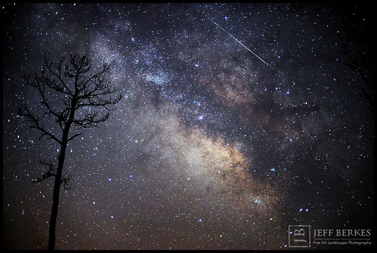 Astrophotographer Jeff Berkes captured this Lyrid meteor in the marshlands of southern Maryland on April 14, 2013. (http://www.jeffberkesphotography.com/)