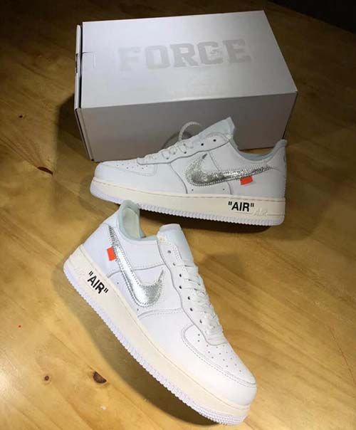 Off-White x Nike Air Force 1 Low ComplexCon Exclusive AO4297-100 - Shoecolla 5e976df88b