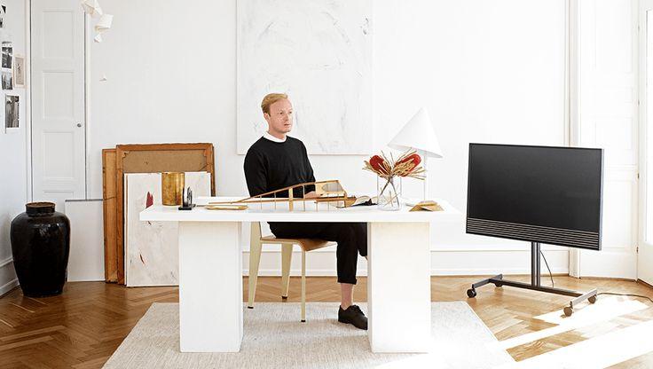 BeoVisionHorizon: Téléviseur moderne UHD 4K. Design intérieur I B&O | Bang & Olufsen