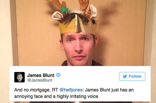 38 Times James Blunt Was The Trolliest Troll On Twitter