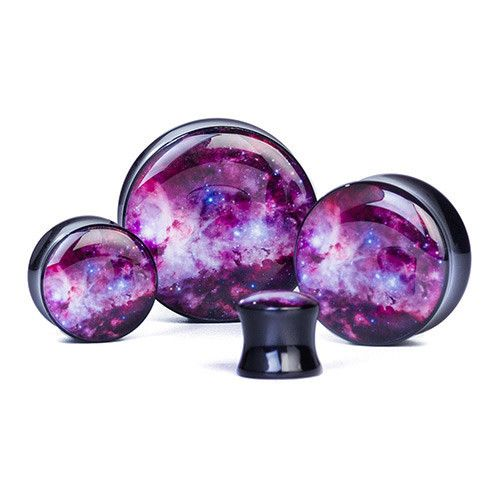 Nebula - Plug | UK Custom Plugs - Ear Gauges, Flesh Tunnels for Stretched Ears