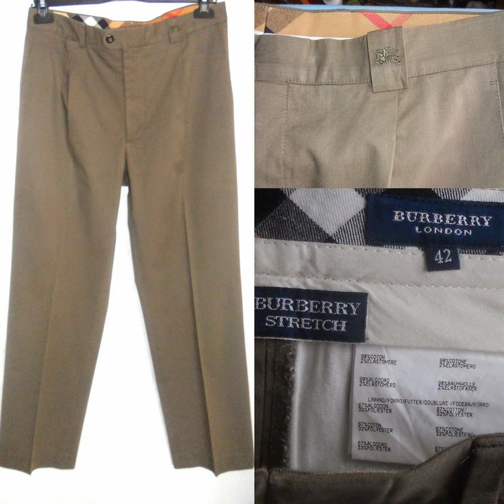 Pantaloni Burberry London- impecabili,ca noi.Bumbac 98% + 2 % elastan.Pot fi considerati unisex.2 buzunare in fata,unul la spate. Talie 84cm,sold 104cm, circumferinta coapsa 64cm,circumferinta tiv 44cm,lungime 101cm