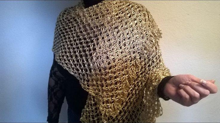 "Fular ""Imperio"" (ganchillo / crochet)"