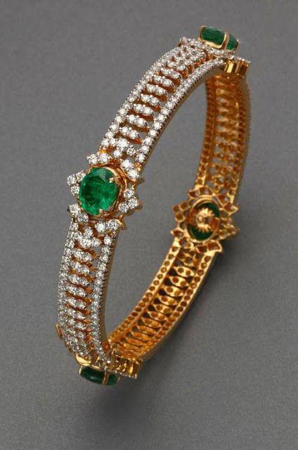 emeralds, diamonds, and gold ;)