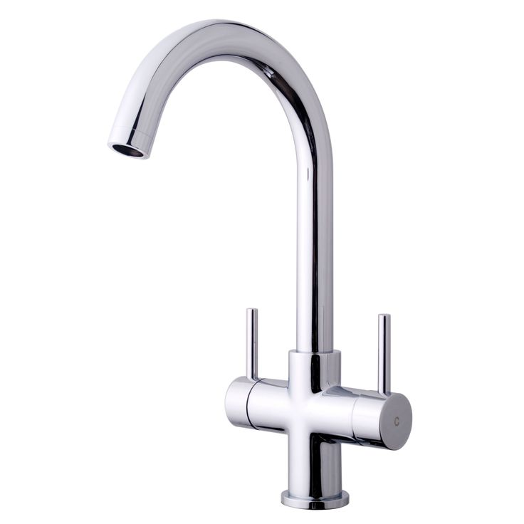 Cooke & Lewis Zale Chrome Effect Monobloc Tap | Departments | DIY at B&Q