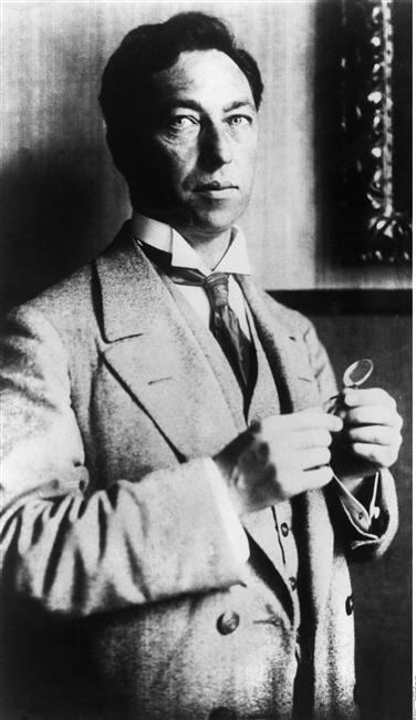 Wassily Kandinsky  Vers 1913  Auteur :  Münter Gabriele (1877-1962) Allemagne, Berlin, BPK