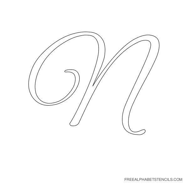 Free Printable Alphabet Stencils | Stencil Letters D Printable Free Stencils Org
