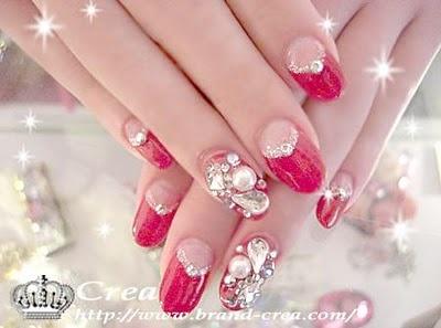 Young Chic and Social: Gyaru Nails Spam Japanese Nail Art Photos