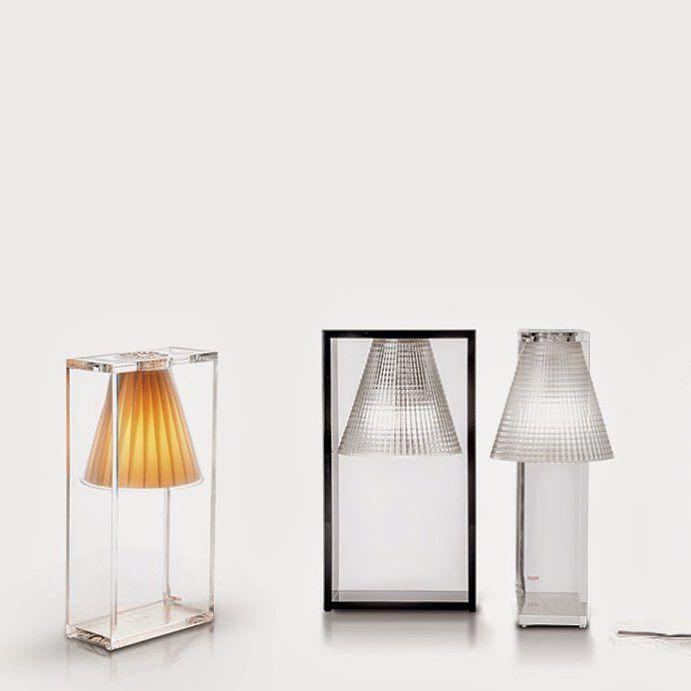 Lampki LightAir firmy Kartell - do sypialni i na salonową komodę. Oryginalny kształt i materiały najwyższej jakości. Lampki dostępne na Designisgood.pl. Zapraszamy!