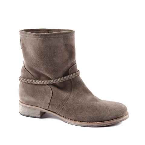 Spring Boot  Upper: Suede  Color: Tan, Grey, Ice.