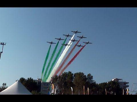 Frecce Tricolori Jesolo Air Show 2016 - YouTube