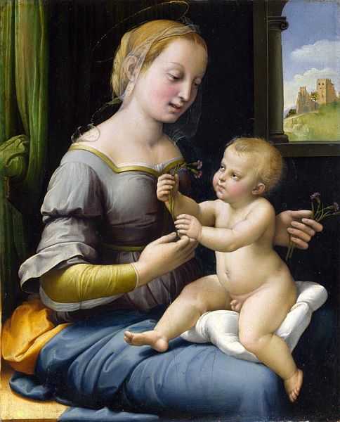 Madonna of the Pinks (Raphael) - Wikipedia, the free encyclopedia